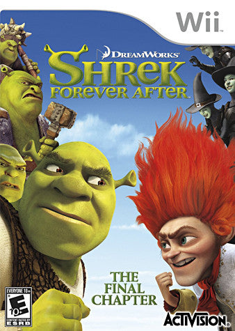 Shrek - Forever After (NINTENDO WII) NINTENDO WII Game