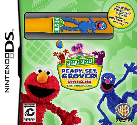 Sesame Street - Ready, Set, Grover! (Plus Stylus) (DS) DS Game