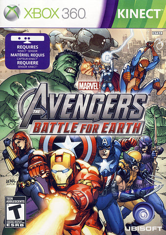 Marvel Avengers - Battle For Earth (Kinect) (XBOX360) XBOX360 Game
