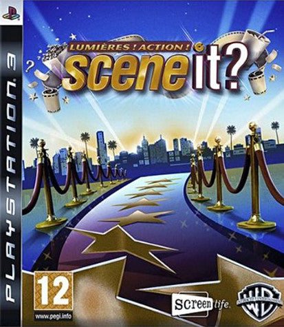 Scene It - Lumieres! Action! (French Version Only) (PLAYSTATION3) PLAYSTATION3 Game