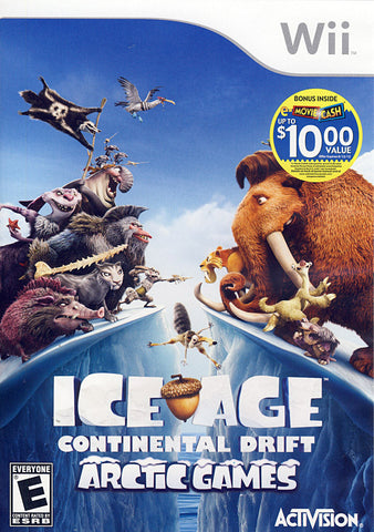 Ice Age - Continental Drift (NINTENDO WII) NINTENDO WII Game