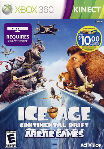 Ice Age - Continental Drift (Kinect) (XBOX360) XBOX360 Game
