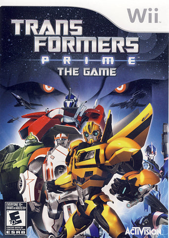 Transformers Prime - The Game (NINTENDO WII) NINTENDO WII Game
