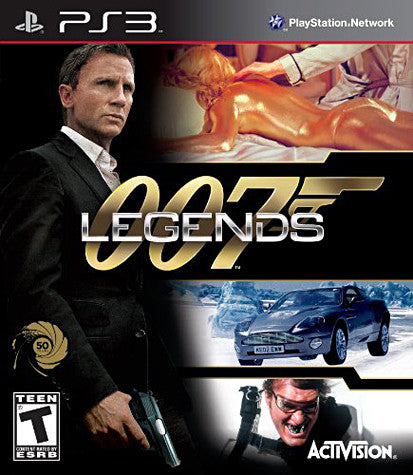 007 Legends (Bilingual Cover) (PLAYSTATION3) PLAYSTATION3 Game