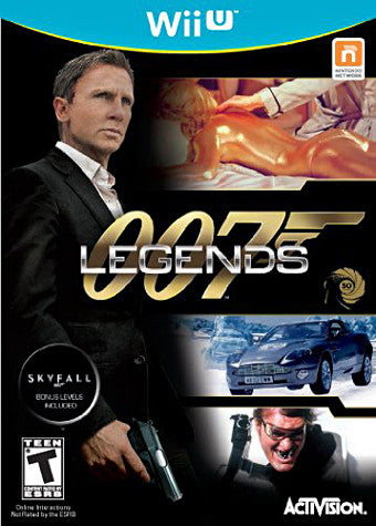 007 Legends (NINTENDO WII U) NINTENDO WII U Game
