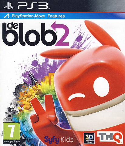 De Blob 2 (Playstation Move) (European) (PLAYSTATION3) PLAYSTATION3 Game