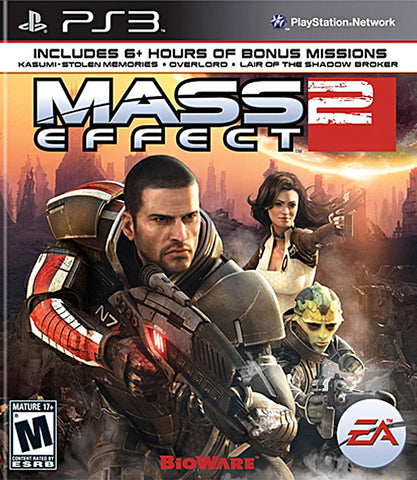 Mass Effect 2 (PLAYSTATION3) PLAYSTATION3 Game