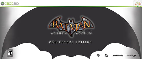 Batman Arkham Asylum - Collector s Edition (XBOX360) XBOX360 Game