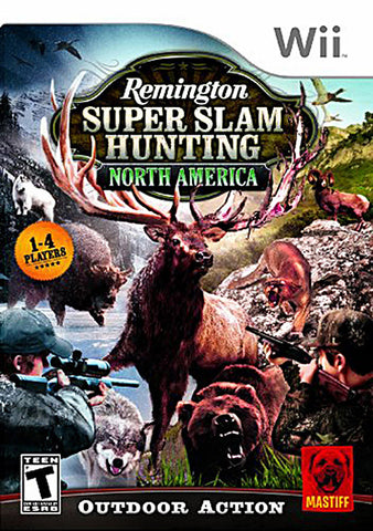 Remington Super Slam Hunting - North America (NINTENDO WII) NINTENDO WII Game