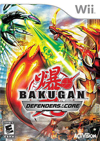 Bakugan Battle Brawlers - Defenders of the Core (NINTENDO WII) NINTENDO WII Game
