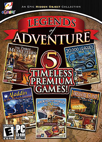 Legends Of Adventure - 5 Timeless Premium Games (PC) PC Game