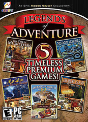 Legends Of Adventure - 5 Timeless Premium Games (PC)