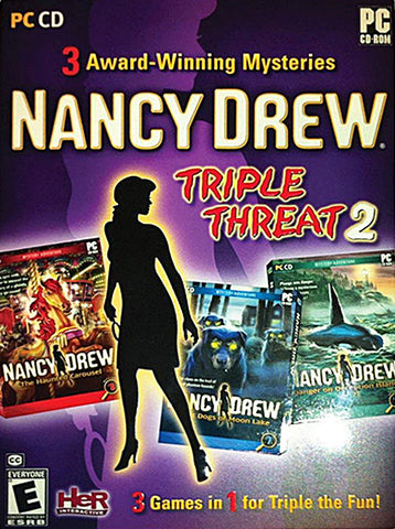 Nancy Drew Triple Threat 2 (PC) PC Game
