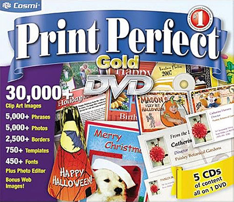 Print Perfect Gold (Limit 1 copy per client) (PC) PC Game