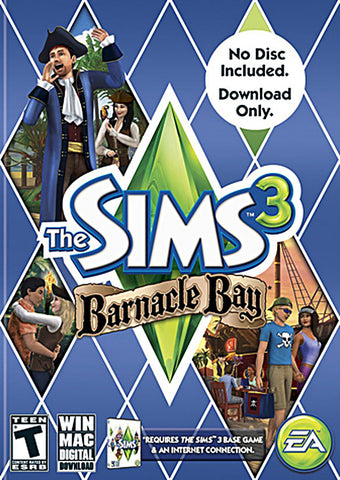 The Sims 3 - Barnacle Bay [No Disc Included Code Only] (PC) PC Game