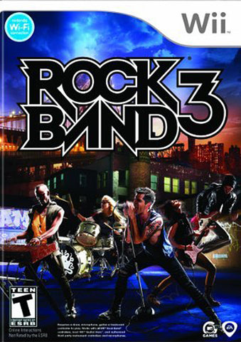 Rock Band 3 (NINTENDO WII) NINTENDO WII Game
