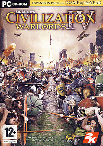 Sid Meier's Civilization IV - Warlords Expansion Pack (European) (PC) PC Game