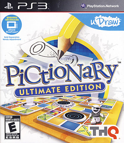 uDraw Pictionary - Ultimate Edition (PLAYSTATION3) PLAYSTATION3 Game