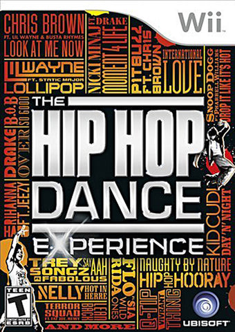 The Hip Hop Dance Experience (Trilingual Cover) (NINTENDO WII) NINTENDO WII Game