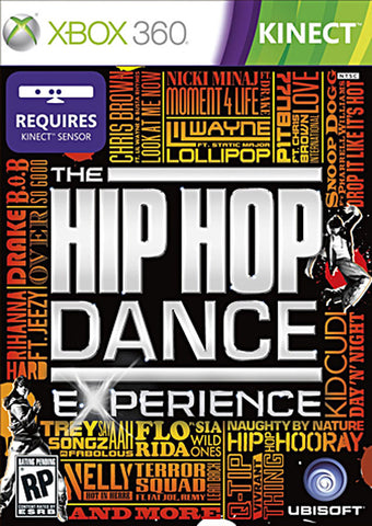 The Hip Hop Dance Experience(Kinect) (Trilingual Cover) (XBOX360) XBOX360 Game