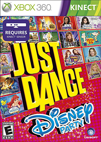 Just Dance - Disney Party (Kinect) (Trilingual Cover) (XBOX360) XBOX360 Game