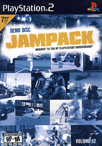Jampack Volume 12 (Demo Disc) (PLAYSTATION2) PLAYSTATION2 Game