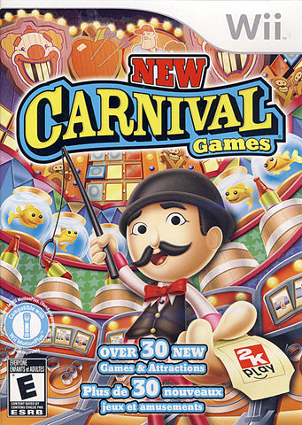 New Carnival Games (Bilingual Cover) (NINTENDO WII) NINTENDO WII Game