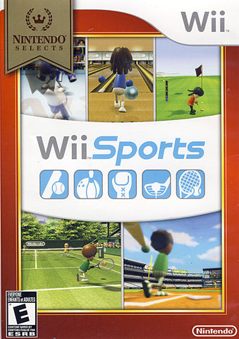 Wii Sports (Nintendo Selects) (NINTENDO WII) NINTENDO WII Game