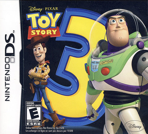 Toy Story 3 - The Video Game (Bilingual Cover) (DS) DS Game