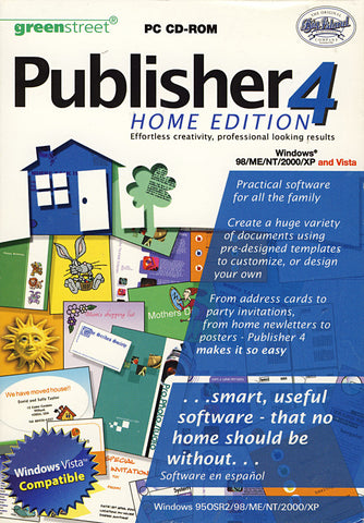 Publisher 4 - Home Edition (PC) PC Game