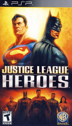 Justice League Heroes (PSP) PSP Game