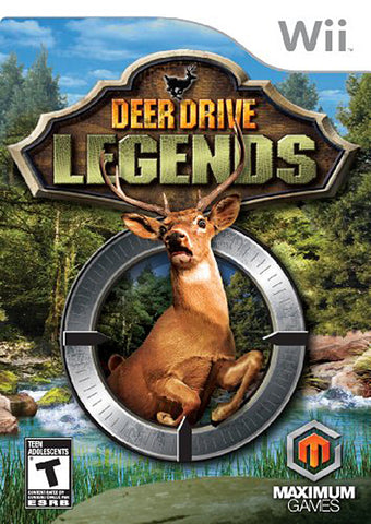 Deer Drive Legends (NINTENDO WII) NINTENDO WII Game