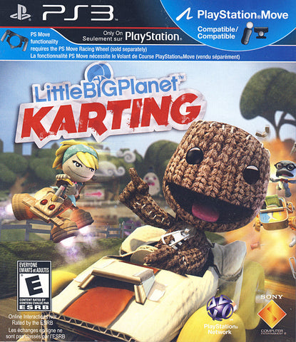 LittleBigPlanet - Karting (PLAYSTATION3) PLAYSTATION3 Game