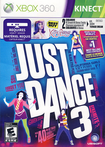Just Dance 3 with Katy Perry Bonus Tracks (XBOX360) XBOX360 Game