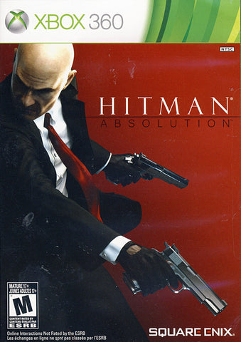 Hitman - Absolution (French Version Only) (XBOX360) XBOX360 Game