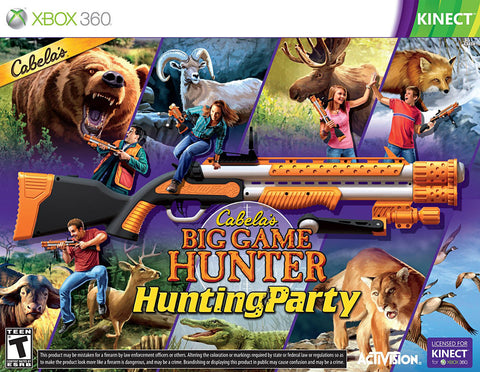 Cabela's Big Game Hunter - Hunting Party with Gun (Bundle) (XBOX360) XBOX360 Game