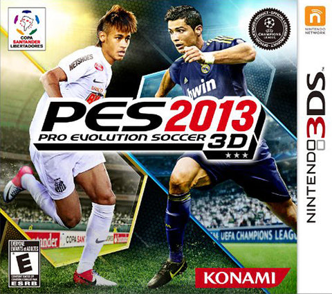 Pro Evolution Soccer 2013 (Trilingual Cover) (3DS) 3DS Game