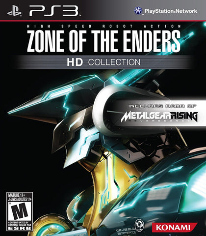 Zone of the Enders HD Collection (Trilingual Cover) (PLAYSTATION3) PLAYSTATION3 Game