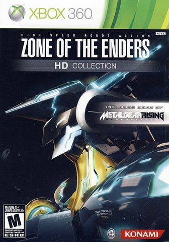 Zone of the Enders HD Collection (Trilingual Cover) (XBOX360) XBOX360 Game