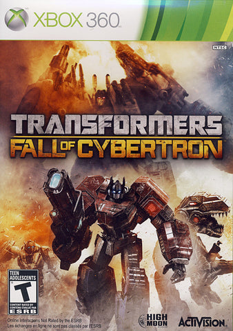 Transformers - Fall of Cybertron (Bilingual Cover) (XBOX360) XBOX360 Game