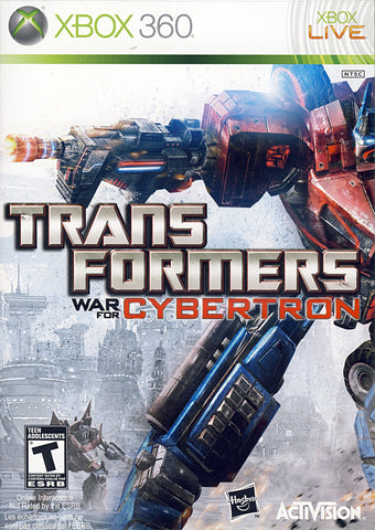 Transformers - War for Cybertron (Bilingual Cover) (XBOX360) XBOX360 Game
