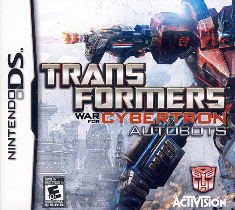 Transformers - War for Cybertron Autobots (DS) DS Game