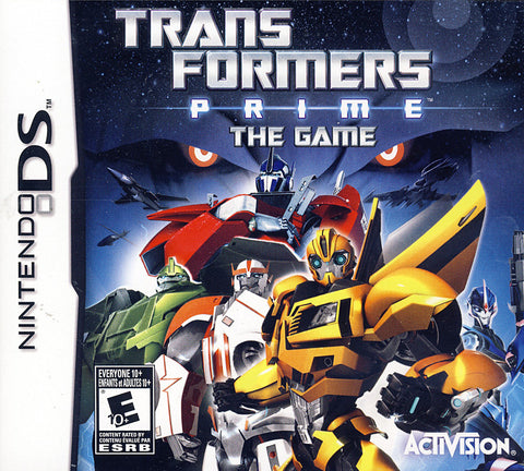 Transformers Prime - The Game (Bilingual Cover) (DS) DS Game