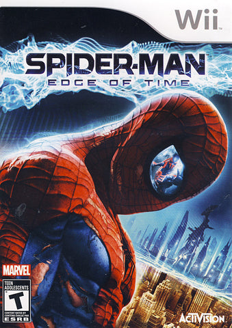 Spider-man - The Edge of Time (Bilingual Cover) (NINTENDO WII) NINTENDO WII Game
