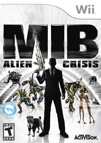 Men In Black - Alien Crisis (Bilingual Cover) (NINTENDO WII) NINTENDO WII Game