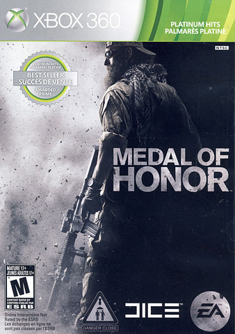 Medal of Honor (Bilingual Cover) (XBOX360) XBOX360 Game