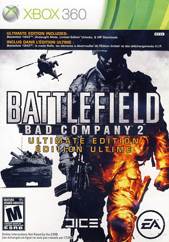 Battlefield - Bad Company 2 (Ultimate Edition) (XBOX360) XBOX360 Game