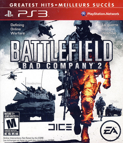 Battlefield - Bad Company 2 (Bilingual Cover) (PLAYSTATION3) PLAYSTATION3 Game