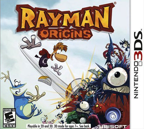 Rayman - Origins (3DS) 3DS Game
