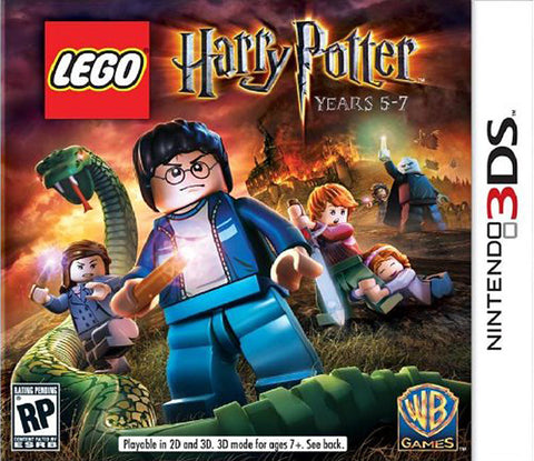 LEGO Harry Potter - Years 5-7 (3DS) 3DS Game